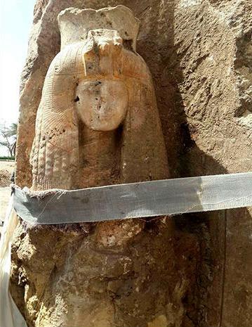 Статуя царицы Тейе © Министерство по делам древностей, Арабская Республика Египет
